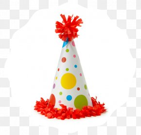 Party Hat - Birthday Cake Party Hat Clip Art PNG