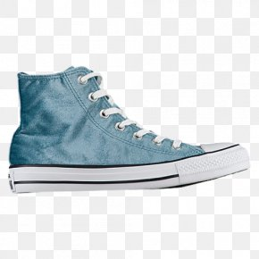 Womens Basketball Shoes 557932F607Teal Converse Tennis Shoes For Women - Sports Shoes Chuck Taylor All-Stars Converse All Star Velvet Hi PNG