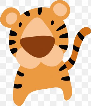 Cartoon Tiger - Tiger Cartoon Cuteness PNG