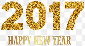 2017 Happy New Year Transparent PNG Image - New Year's Day Clip Art PNG