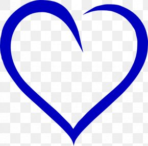 Jesus Heart Cliparts - Heart Blue Clip Art PNG