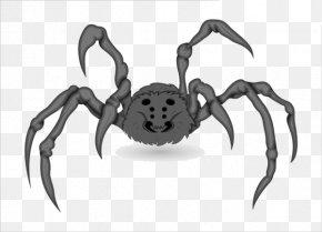 Cartoon Spider Material - Spider Web Euclidean Vector Clip Art PNG