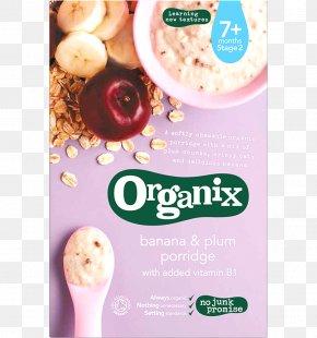 Dried Plum - Porridge Baby Food Organic Food Breakfast Cereal Oatmeal PNG