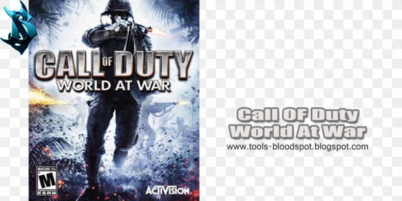 Call Of Duty: World At War Call Of Duty 4: Modern Warfare Call Of Duty: Modern Warfare 2 Call Of Duty: Black Ops II, PNG, 1000x500px, Call Of Duty World At War, Action Film, Activision, Advertising, Brand Download Free