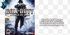 Call Of Duty World At War - Call Of Duty: World At War Call Of Duty 4: Modern Warfare Call Of Duty: Modern Warfare 2 Call Of Duty: Black Ops II PNG