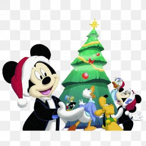 Mickey Mouse - Mickey Mouse Donald Duck Minnie Mouse Christmas Daisy Duck PNG