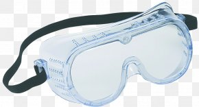 Protective Glasses Cliparts - Goggles Safety Glasses Eye Protection Personal Protective Equipment PNG
