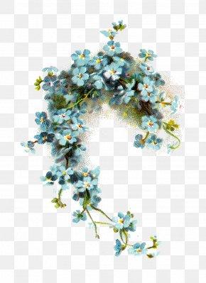 Forget Me Not Image - Blue Flower Blue Flower Clip Art PNG