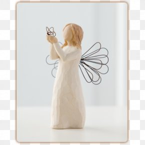 Willow Tree - Willow Tree Figurine Angel Sculpture Flower PNG