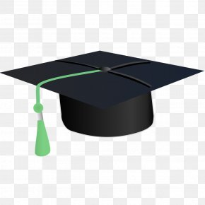 Graduation Cap Illustration - Student Cap Hat Clip Art PNG