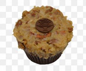 Cupcake Tower - Muffin German Chocolate Cake Praline Baking Flavor PNG