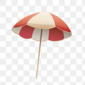 Vector Summer Beach Umbrellas - Umbrella Beach Euclidean Vector PNG