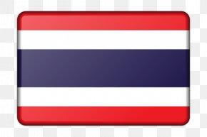 Flag Of Thailand - Flag Of Thailand Flag Of Thailand Rainbow Flag PNG