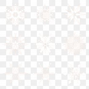 Winter Snowflake Creative Collection - Idea Pattern PNG
