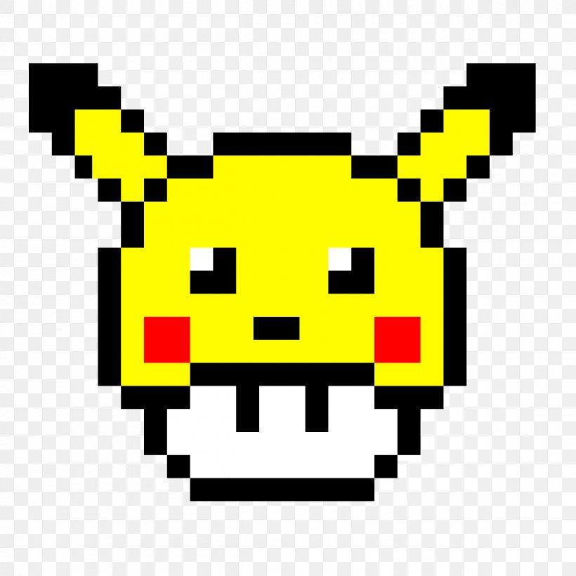Pikachu Mario Pixel Art Pokémon Minecraft Png 1200x1200px