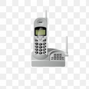 Vector Retro White Family Mobile Phone - Telephone Call Mobile Phone Landline Google Images PNG