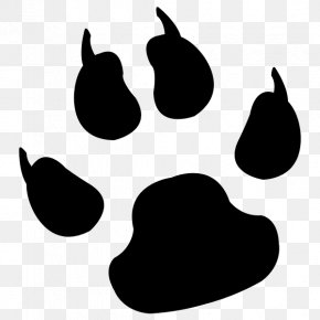 Tattoo Image - Dog Cougar Cat Paw Clip Art PNG