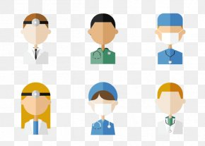 Doctors And Nurses Icon Vector - Job Euclidean Vector Icon PNG