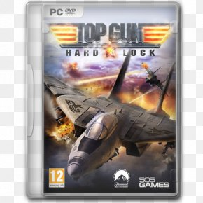 Top Gun Hard Lock - Pc Game Video Game Software Aircraft Aviation Airplane PNG