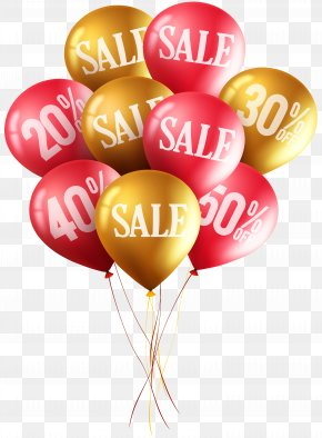 Advertising Sale Balloons Clip Art Image - Balloon Diagram Clip Art PNG