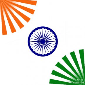 Republic Day India - Flag Of India Ashoka Chakra National Symbols Of India PNG