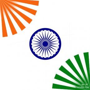 Republic Day India - Flag Of India Ashoka Chakra National Symbols Of India PNG