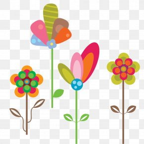 Delicate Flower - Vector Graphics Image Design Download PNG