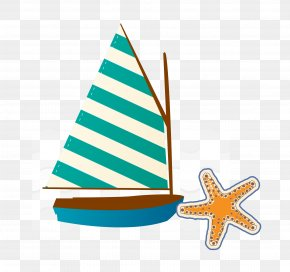 Great Sailing Element - Summer Euclidean Vector Icon PNG