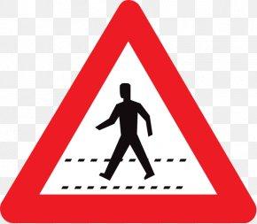 Wet Road - Warning Sign Clip Art PNG