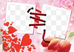 Love Frame Photoshop Background - Picture Frames Love Collage Photography Android PNG