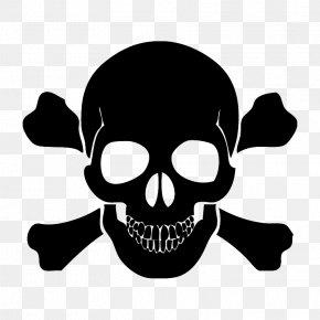 Skull - Skull And Bones Skull And Crossbones Human Skull Symbolism PNG