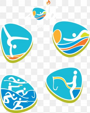 Rio 2016 Olympic Games Sports Icon - 2016 Summer Olympics Rio De Janeiro Sport Clip Art PNG