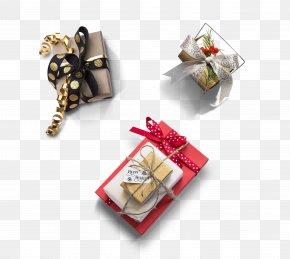 Christmas Gift Box Element 3 - Christmas Gift Christmas Gift Mirror PNG