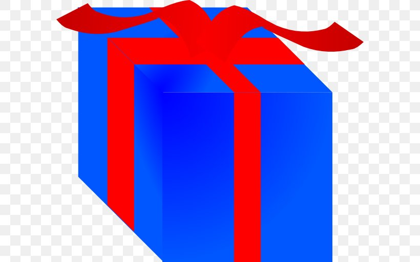 Gift Wrapping Box Clip Art, PNG, 600x512px, Gift, Area, Birthday, Blue, Box Download Free