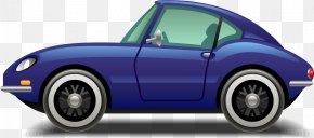 Cartoon Luxury Car - Sports Car Automotive Design Luxury Vehicle PNG