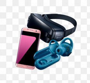 Samsung Gear Vr - Samsung Gear VR Samsung Galaxy S7 Virtual Reality Headset PNG