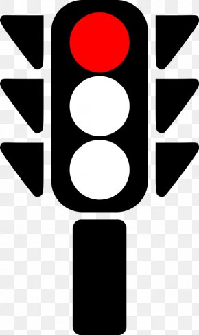 Red Traffic Light - Traffic Light Clip Art PNG