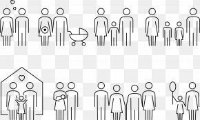 Woman Male Male Female Symbolic Family - Woman Pictogram Photography PNG