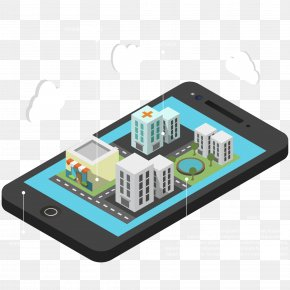 Vector Smartphone Information - Business Building Information Modeling Management Augmented Reality Software PNG
