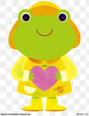 Baby Frog - Tree Frog Clip Art PNG