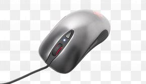 Pc Mouse Pic - Computer Mouse Pointer SteelSeries PNG