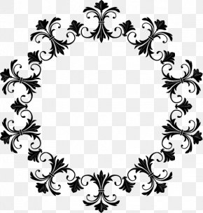 Round Vintage Vector - Graphic Frames Picture Frame Clip Art PNG
