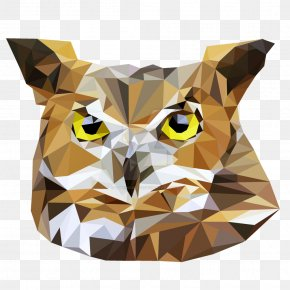 Low Poly - Owl Low Poly DeviantArt Animal PNG