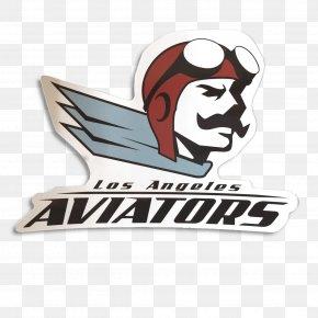 Los Angeles - Los Angeles Aviators American Ultimate Disc League Aviator Sunglasses PNG
