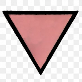 Pink Triangle - Symbol The Holocaust PNG