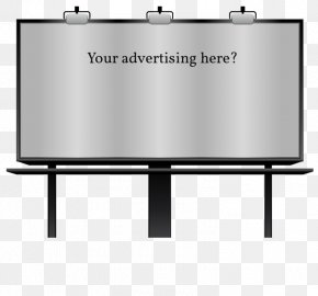 Banner Copywriter - Billboard Advertising Clip Art PNG