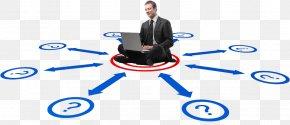Hello Around The Man - Communication Businessperson Organization Marketing PNG