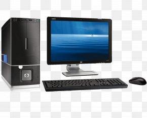 Computer Desktop Pc Image - Laptop Hewlett Packard Enterprise Dell Mac Mini Computer Monitor PNG