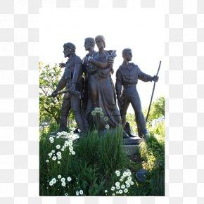 Pioneer Day - Statue Batavia Pioneer Family Memorial Public Art Sculpture PNG
