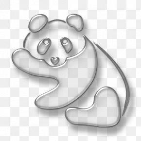 Bear - Bear Giant Panda Cat Dog PNG